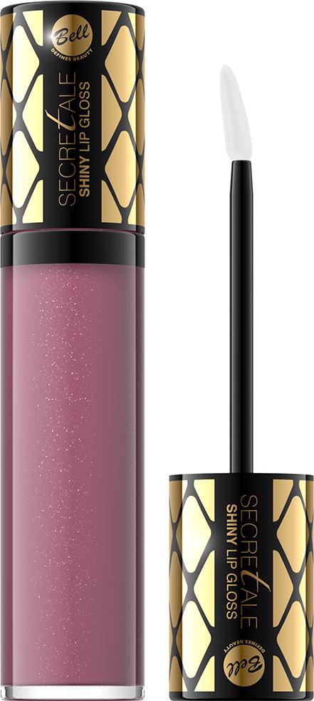 Bell Блеск для губ Увлажняющий Secretale Shiny Lip Gloss Тон 03, 6 млBlgsS003Разглаживающий и оптически увеличивающий объем блеск для губ. Кондиционирующие вещества увлажняют и смягчают их эпидермис. Блеск наносится нежно и приятно. Продукт равномерно покрывает губы блестящим, как капли воды, цветом. Благодаря стойкой формуле, этим эффектом можно наслаждаться очень долго.