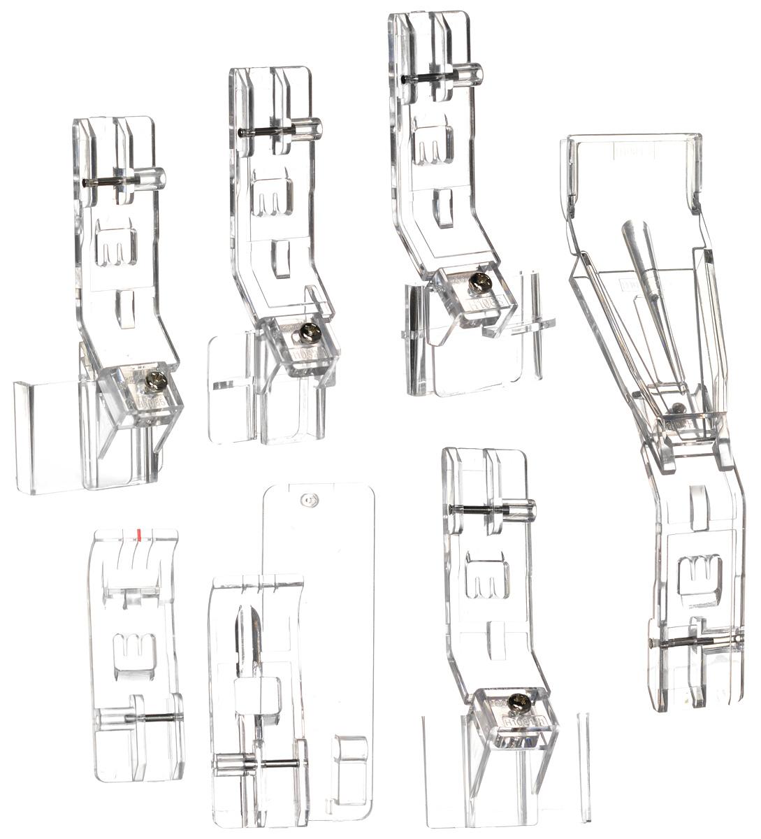 Merrylock комплект лапок для плоских швов 4716779470598