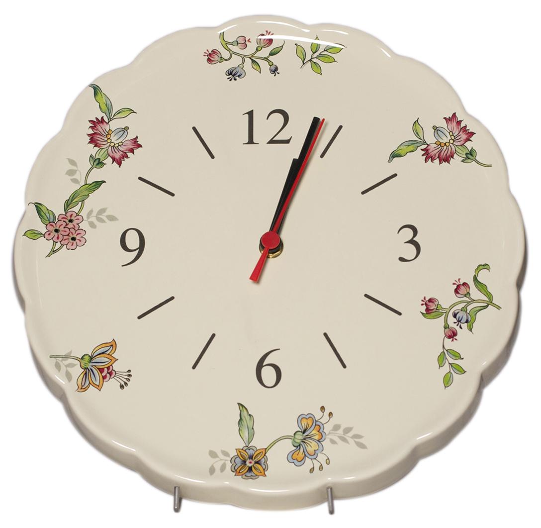Часы Nuova Cer Прованс, 30 см54 009303Часы керамические 30см Прованс