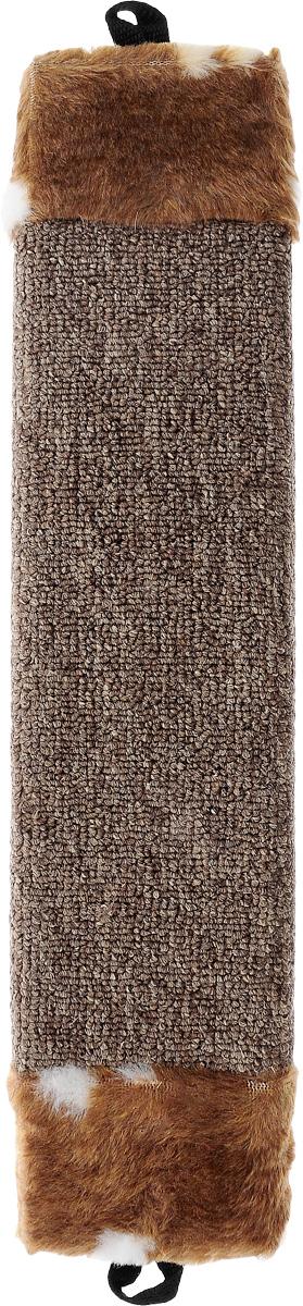 Когтеточка Elite Valley, цвет: коричневый, белый, длина 42 см0120710Когтеточка Elite Valley поможет сохранить мебель и ковры в доме от когтей вашего любимца, стремящегося удовлетворить свою естественную потребность точить когти. Когтеточка изготовлена из ДСП и обтянута ковролином. Изделие продумано в мельчайших деталях и, несомненно, понравится вашей кошке. Всем кошкам необходимо стачивать когти. Когтеточка - один из самых необходимых аксессуаров для кошки. Общая длина когтеточки: 42 см. Длина рабочей части: 27 см.