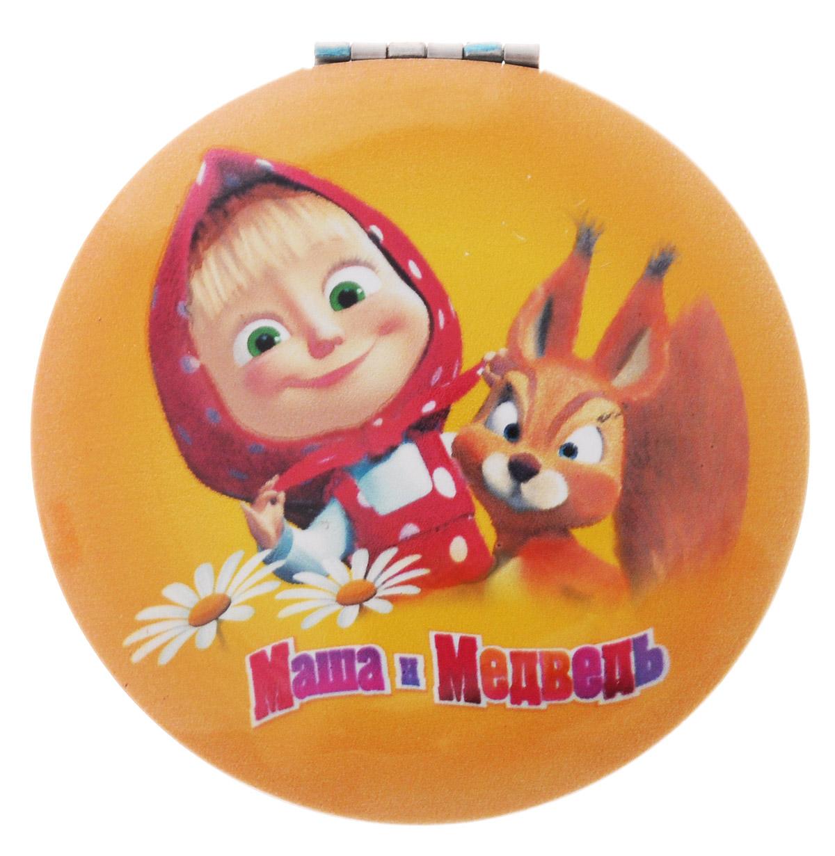 Маша и Медведь Зеркало карманноеKF1120Карманное зеркало Маша и Медведь, выполненное в круглом пластиковом корпусе, декорировано изображением главной героини мультфильма Маша и Медведь - Маши и белочки.Такое зеркало станет отличным подарком маленькой представительнице прекрасного пола, ведь даже самая маленькая леди обязательно вместит в свою сумочку миниатюрное зеркальце - атрибут каждой модницы.