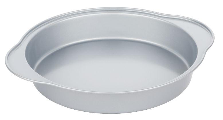 Форма для выпечки Walmer Silver, круглая, диаметр 24 смW12022844Круглая форма для выпечки Walmer Silver, выполненная из высококачественной углеродистой стали, гарантирует великолепный результат. Материал корпуса обеспечивает максимальную теплоотдачу, экономя время приготовления. Двухслойное антипригарное покрытие Xynflon полностью безопасно и не выделяет вредных веществ при нагреве. Форма идеально подходит для приготовления пирогов, запеканок и других блюд. Можно мыть в посудомоечной машине.