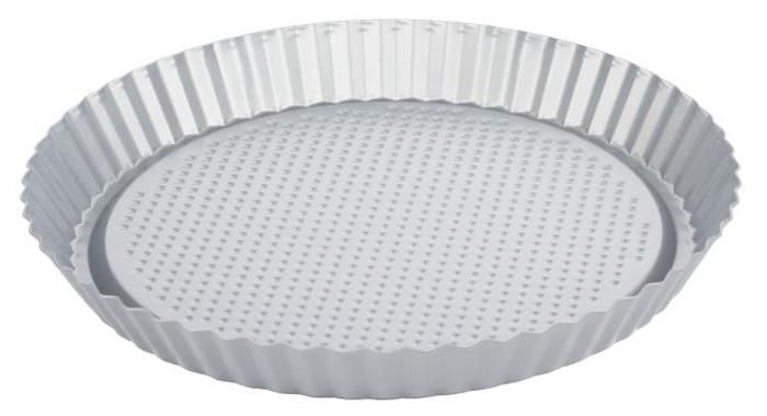 Форма для выпечки флана Walmer Silver, диаметр 28 см94672Круглая форма для выпечки классического флана Walmer Silver, выполненная из высококачественной углеродистой стали, гарантирует великолепный результат. Материал корпуса обеспечивает максимальную теплоотдачу, экономя время приготовления. Двухслойное антипригарное покрытие Xynflon полностью безопасно и не выделяет вредных веществ при нагреве.Форма идеально подходит также для приготовления пирогов, запеканок и других блюд. Можно мыть в посудомоечной машине.
