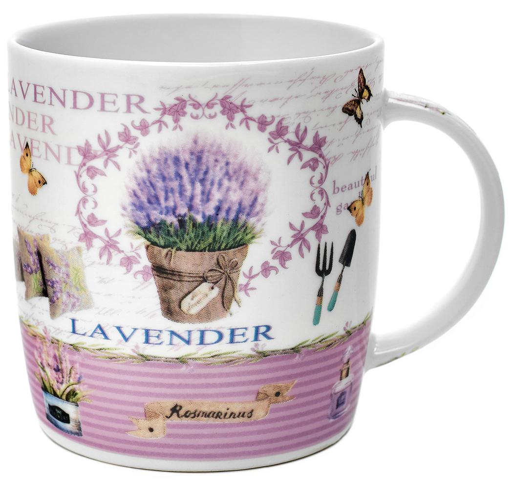 Кружка Walmer Lavender in pots, 370 мл115510Кружка Walmer Lavender in pots, выполненная из костяного фарфора, оформлена в романтичной гамме: нежно-сиреневая лаванда удачно гармонирует с белизной фарфора.Изделие дополнено эргономичной ручкой. Кружка Walmer Lavender in pots, не только порадует своей практичностью, но и станет приятным сувениром для ваших близких. А оригинальное оформление кружки добавит ярких эмоций.