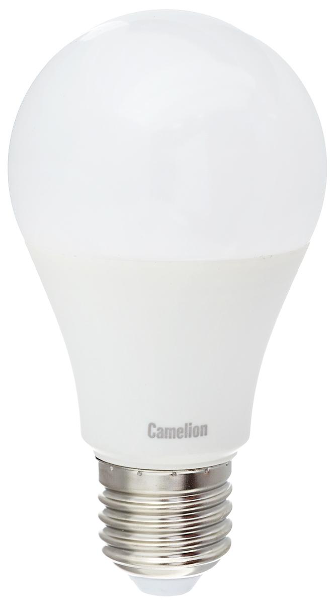 Лампа светодиодная Camelion, холодный свет, цоколь Е27, 7W11254Светодиодная лампа Camelion - это инновационное решение, разработанное на основе новейших светодиодных технологий (LED) для эффективной замены любых видов галогенных или обыкновенных ламп накаливания во всех типах осветительных приборов. Она хорошо подойдет для создания рабочей атмосферы в производственных и общественных зданиях, спортивных и торговых залах, в офисах и учреждениях. Лампа не содержит ртути и других вредных веществ, экологически безопасна и не требует утилизации, не выделяет при работе ультрафиолетовое и инфракрасное излучение. Напряжение: 220-240 В / 50 Гц. Индекс цветопередачи (Ra): 77+. Угол светового пучка: 270°. Использовать при температуре: от -30° до +40°.
