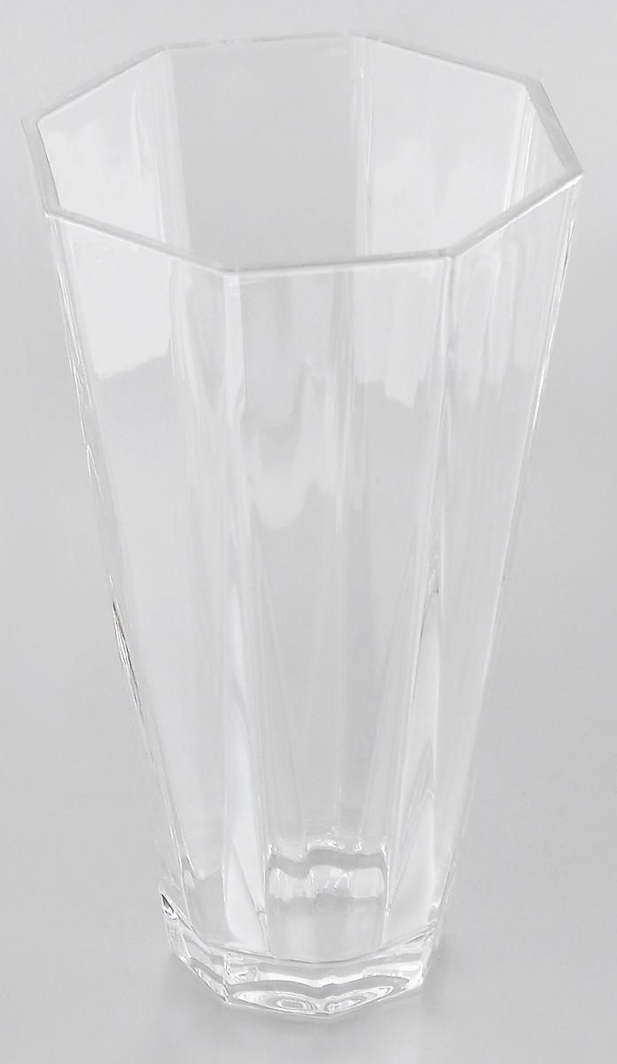 Ваза Crystal Bohemia, высота 22 см94672Изящная ваза Crystal Bohemia, изготовленная из высококачественного граненого хрусталя, станет прекрасным украшением интерьера.Она дополнит интерьер вашего дома и станет желанным и стильным подарком. Кроме того - это отличный вариант подарка для ваших близких и друзей.Высота вазы: 22 см.Диаметр основания: 7 см.Диаметр по верхнему краю: 12,7 см.