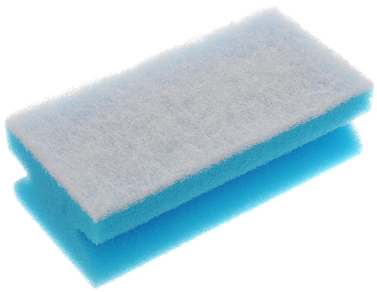 Губка для уборки Paterra Delicato, 13 х 6,5 х 4,5 см406-005Губка Paterra Delicato выполнена из полиуретана и деликатной фибры. Предназначена для уборки помещений и сантехники. Губка идеальна для деликатных поверхностей: стеклокерамики, акрила, фаянса, эмали. Не оставляет царапин, не деформируется и не крошится. Прочный абразивный слой не загрязняется в процессе использования и отлично вымывается водой. Изделие имеет боковые вырезы для удобного захвата рукой.