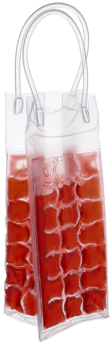 Сумка-термос Tescoma Mydrink, цвет: красный, 10 х 9 х 25 см19201Сумка-термос Tescoma Mydrink предназначена для поддержания идеальной температуры холодных напитков жарким летом. Отлично подходит для сервировки белых, розовых вин и других прохладительных напитков в саду, на террасе и в доме. Изделие оснащено ручками, которые облегчают переноску напитков. Перед каждым использованием рекомендуется по крайней мере на 8 часов поместить сумку-термос в холодильник, затем вынуть и вложить в нее охлажденный напиток. Не подходит для использования в морозильной камере. Размер сумки-термоса (без учета ручек): 10 х 9 х 25 см.
