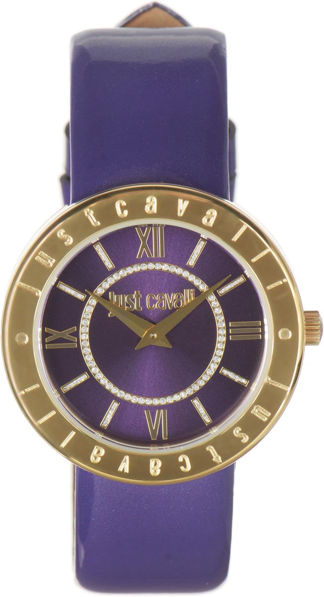 Часы наручные женские Just Cavalli, цвет: фиолетовый. R7251532503R7251532503Наручные женские часы Just Cavalli произведены из материалов самого высокого качества на базе новейших технологий. Они оснащены точным кварцевым механизмом. Корпус часов изготовлен из нержавеющей стали с PVD-покрытием, циферблат инкрустирован стразами и защищен минеральным стеклом. Ремешок выполнен из натуральной лаковой кожи и оснащен классической застежкой. Циферблат круглой формы оснащен римскими цифрами и отметками, а так же двумя стрелками - часовой и минутной. Часы являются водостойкими - 3АТМ. Изделие укомплектовано в стильную фирменную коробку с названием бренда. Наручные часы Just Cavalli созданы для современных девушек, которые не желают потерять свою индивидуальность в городской суете.