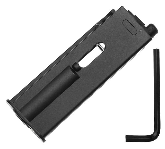 Магазин для Gletcher М712, 4,5 мм. 4847848478Магазин для пневматического пистолета Gletcher М712 , калибр 4,5 мм