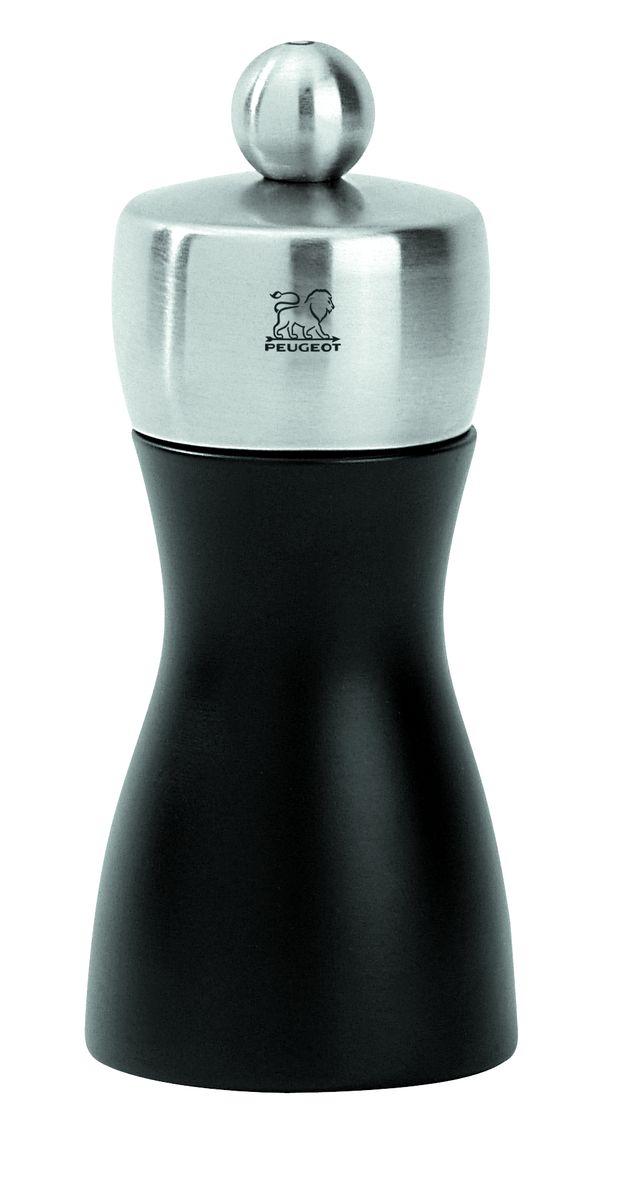 Мельница для соли Peugeot Fidji, высота 12 см21290Мельница для соли Peugeot Fidji - отличное приспособление для приготовления блюд со свежемолотой солью. Выполнена из дерева и нержавеющей стали. Изделие оснащено двойным рядом винтообразных зубцов для захвата горошин и подачи их к основанию, а затем удержания их до безупречного помола. Эта уникальная система позволяет регулировать уровень помола. Зубцы имеют антикоррозионное покрытие.