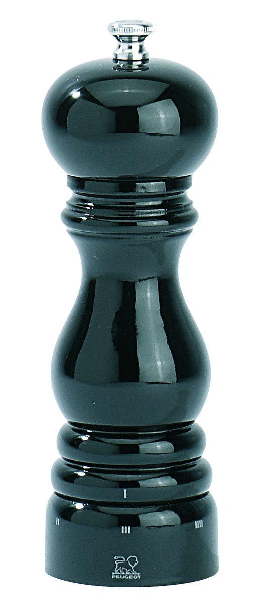 Мельница для перца Peugeot Paris uselect, цвет: черный, высота 18 см23706Мельница для перца Peugeot Paris uselect - отличное приспособление для приготовления блюд со свежемолотым перцем. Выполнена из дерева с лакированным покрытием и нержавеющей стали. Изделие оснащено двойным рядом винтообразных зубцов для захвата горошин и подачи их к основанию, а затем удержания их до безупречного помола. Эта уникальная система позволяет регулировать уровень помола. Зубцы имеют антикоррозионное покрытие.
