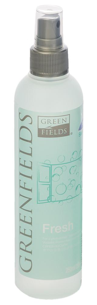 Спрей-лосьон для устранения запаха Greenfields Fresh Морской бриз, 250 мл0120710Спрей-лосьон Fresh Морской бриз Greenfilds для устранения запаха животных, который действует на молекулярном уровне. Создан на основании натуральных компонентов, подаренных самой природой. Гипоаллергенен, не имеет резких запахов. Идеально подходит для устранения запаха в помещении, на тканях, в автомобиле. Придаёт и сохраняет приятный аромат в течение длительного времени, содержит натуральные дезодорирующие компоненты. Подходит для использования как в присутствии животных, так и без. Не оставляет пятнен на тканях и твёрдых поверхностях.Полностью устраняет неприятный запах от животных на молекулярном уровне.