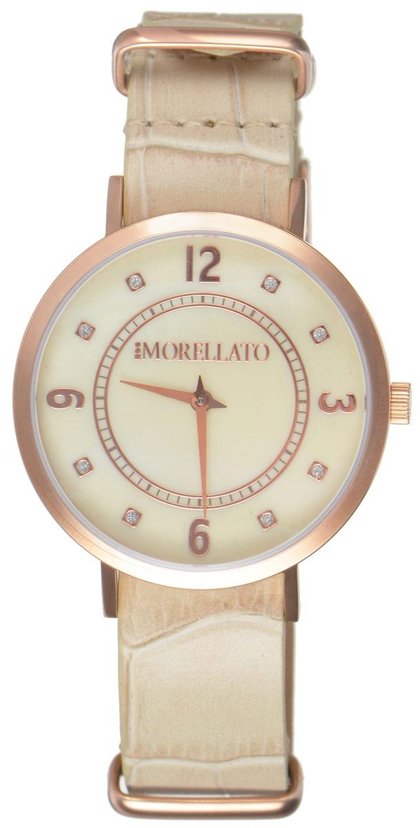 Часы наручные женские Morellato, цвет: песочный. R0151133507R0151133507Стильные женские часы Morellato изготовлены из высокотехнологичной гипоаллергенной нержавеющей стали с PVD-покрытием. Ремешок выполнен из натуральной кожи с тиснением под рептилию и оснащен классической застежкой-пряжкой. Точный кварцевый механизм имеет степень влагозащиты равную 3 Bar и дополнен часовой и минутной стрелками. Циферблат украшен рисками, инкрустированными искусственными кристаллами и перламутром. Для того чтобы защитить циферблат от повреждений в часах используется высокопрочное минеральное стекло. Изделие упаковано в фирменную коробку и дополнительно в подарочную коробку с названием бренда. Часы Morellato отличаются современным уникальным дизайном, идеальными пропорциями в сочетании с прекрасными материалами, техническими характеристиками и доступной ценой.