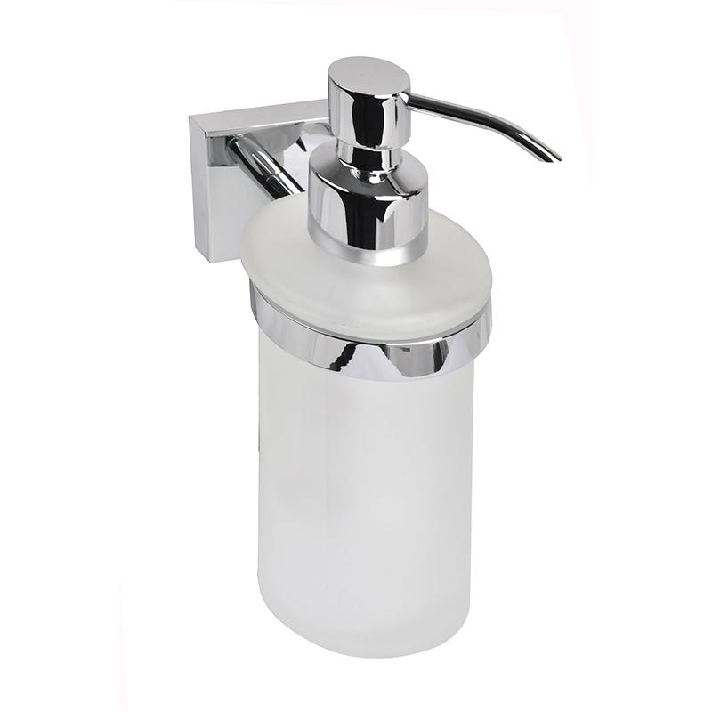 Дозатор для жидкого мыла Iddis EdificeEDIMBG0i46Дозатор для жидкого мыла Iddis Edifice отлично подойдет для вашей ванной комнаты. Такой аксессуар очень удобен в использовании, достаточно лишь перелить жидкое мыло в дозатор, а когда необходимо использование мыла, легким нажатием выдавить нужное количество.
