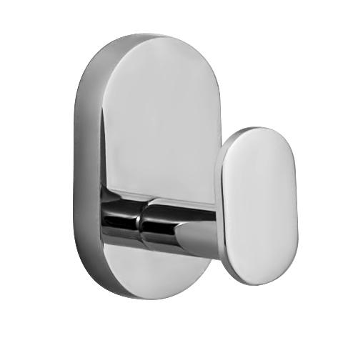 Крючок настенный Iddis Mirro Plus, цвет: хром96515412Двойной крючок Iddis Mirro Plus предназначен для подвешивания полотенец, халата и многого другого в ванной комнате. Он выполнен из латуни. Хромированное покрытие придает изделию яркий металлический блеск и эстетичный внешний вид. Крепление входит в комплект.