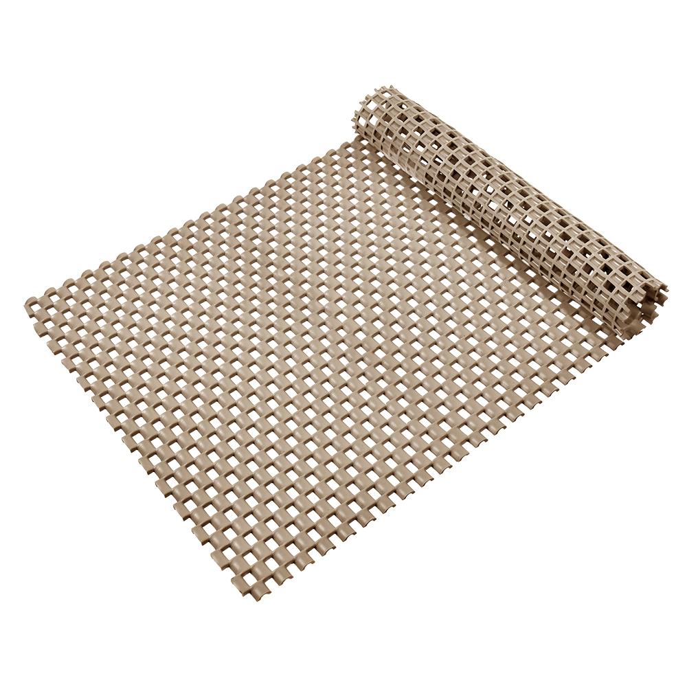 Коврик-дорожка Vortex Шашки, противоскользящий, цвет: бежевый, 0,9 х 10 м24072Коврик-дорожка из ПВХ повышенной твердости и износоустойчивости препятствует скольжению, эффективно защищает помещение от влаги и грязи. Легко укладывается на поверхность любой формы и площади. Легко чистится и моется. Подходит для использования в быту и в помещениях с высокой проходимостью.