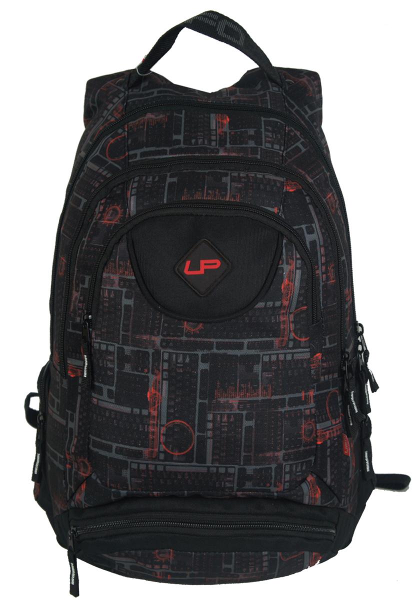 Рюкзак подростковый UFO people, цвет: фиолетовый, 20 л. 7000-47000-4Стеганная спинка Карман-органайзер Уплотненное дно Усиленные нейлоновые нитки Металлические пуллеры