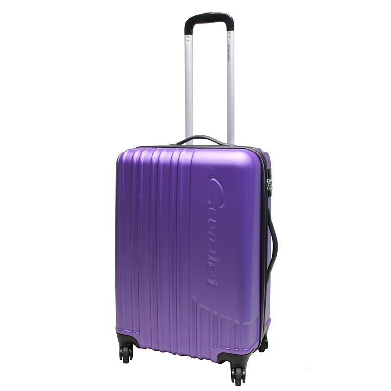 Чемодан-тележка Cavalet MALIBU Luggage, 75+14 л, цвет: фиолетовый. 858-60-59858-60-59Cavalet MALIBU Luggage collection. Чемодан-тележка на 4-х колесах с расширением 5 см. Вес 4,1кг. Объем 75-89л. Все товары компании изготавливаются из высококачественных материалов и проходят строгий контроль качества.