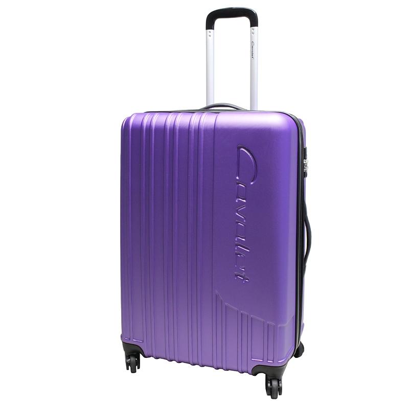 Чемодан-тележка Cavalet Malibu Luggage, 103+20 л, цвет: фиолетовый. 858-70-59Костюм Охотник-Штурм: куртка, брюкиЧемодан-тележка Cavalet на четырех колесах идеально подходит для поездок и путешествий. Корпус имеет жесткую конструкцию и выполнен из ударопрочного пластика. Чемодан имеет одно вместительное отделение для хранения одежды и аксессуаров, с возможностью увеличения объема. Отделение закрывается на застежку-молнию и замок. Внутри сетчатый карман на молнии и багажные ремни для фиксации. Внутренняя поверхность изделия отделана полиэстером.В верхней части чемодана предусмотрена ручка для переноски. На одной из боковых сторон - пластиковые ножки, на другой - дополнительная ручка для переноски.Чемодан оснащен удобной телескопической ручкой. Стильный и удобный чемодан-тележка Cavalet вместит все необходимые вещи и станет незаменимым аксессуаром во время поездок.