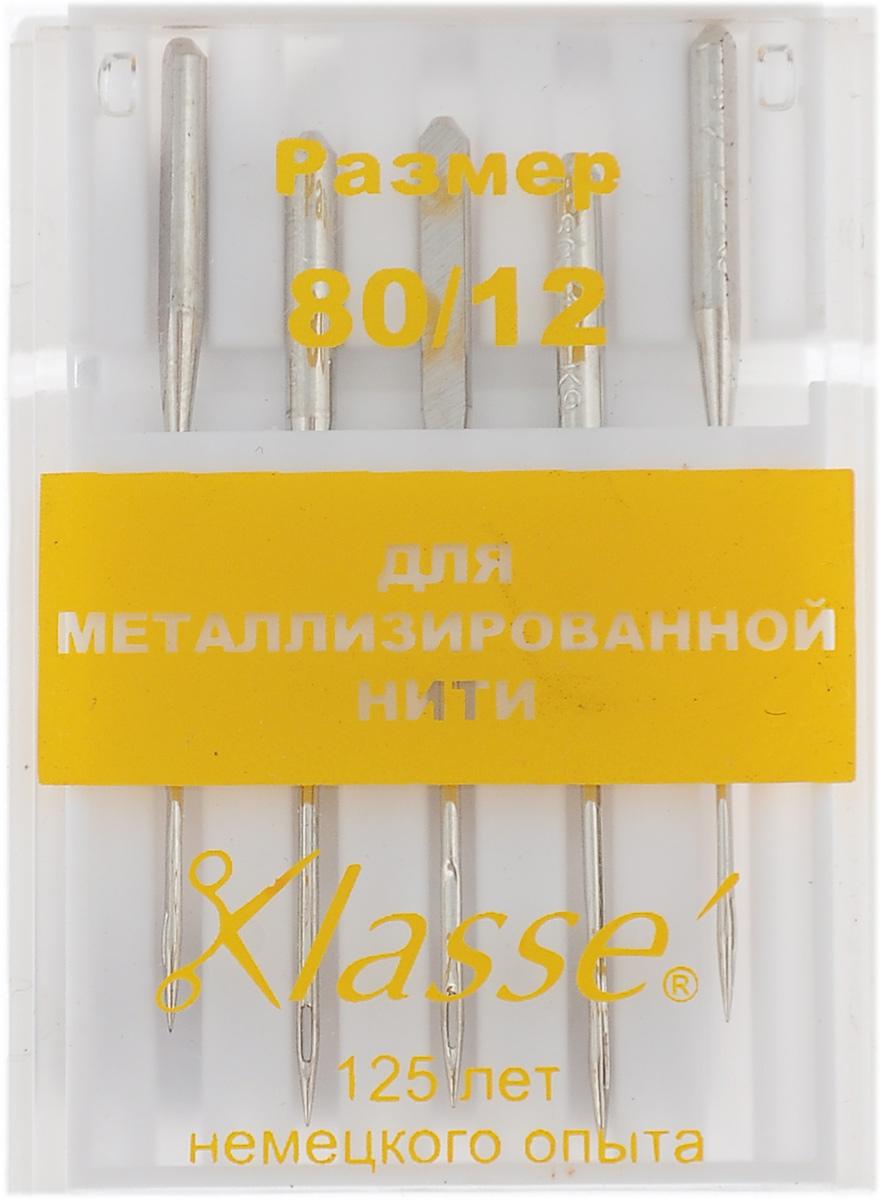 Иглы для бытовых швейных машин Hemline, для металлизированной нити, №80, 5 шт. A6145/80A6145/80Иглы Hemline для металлизированной нити идеально подходят для шитья и вышивки нитками металлик. Более крупное ушко иглы разработано специально для таких ниток, кроме того нить очень легко вдеть в иглу. Отполированное ушко иглы предотвращают отслаивание металлической нити. В комплекте пластиковый футляр для переноски и хранения. Размер: 80/12.