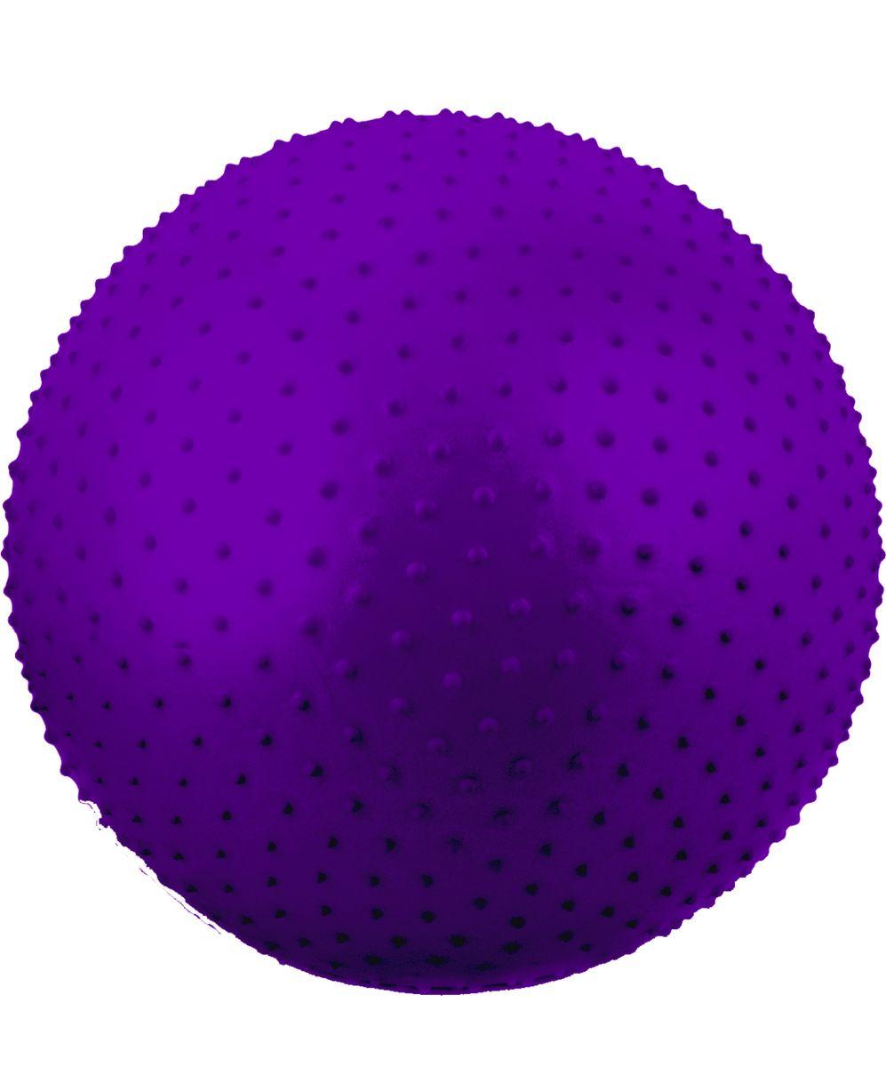 Мяч гимнастический Starfit, антивзрыв, массажный, цвет: фиолетовый, диаметр 75 смУТ-00008867Мяч Star Fit предназначен для гимнастических и медицинских целей в лечебных упражнениях. Он выполнен из прочного гипоаллергенного ПВХ. Прекрасно подходит для использования в домашних условиях. Данный мяч можно использовать для: реабилитации после травм и операций, восстановления после перенесенного инсульта, стимуляции и релаксации мышечных тканей, улучшения кровообращения, лечении и профилактики сколиоза, при заболеваниях или повреждениях опорно-двигательного аппарата. УВАЖЕМЫЕ КЛИЕНТЫ! Обращаем ваше внимание на тот факт, что мяч поставляется в сдутом виде. Насос не входит в комплект.