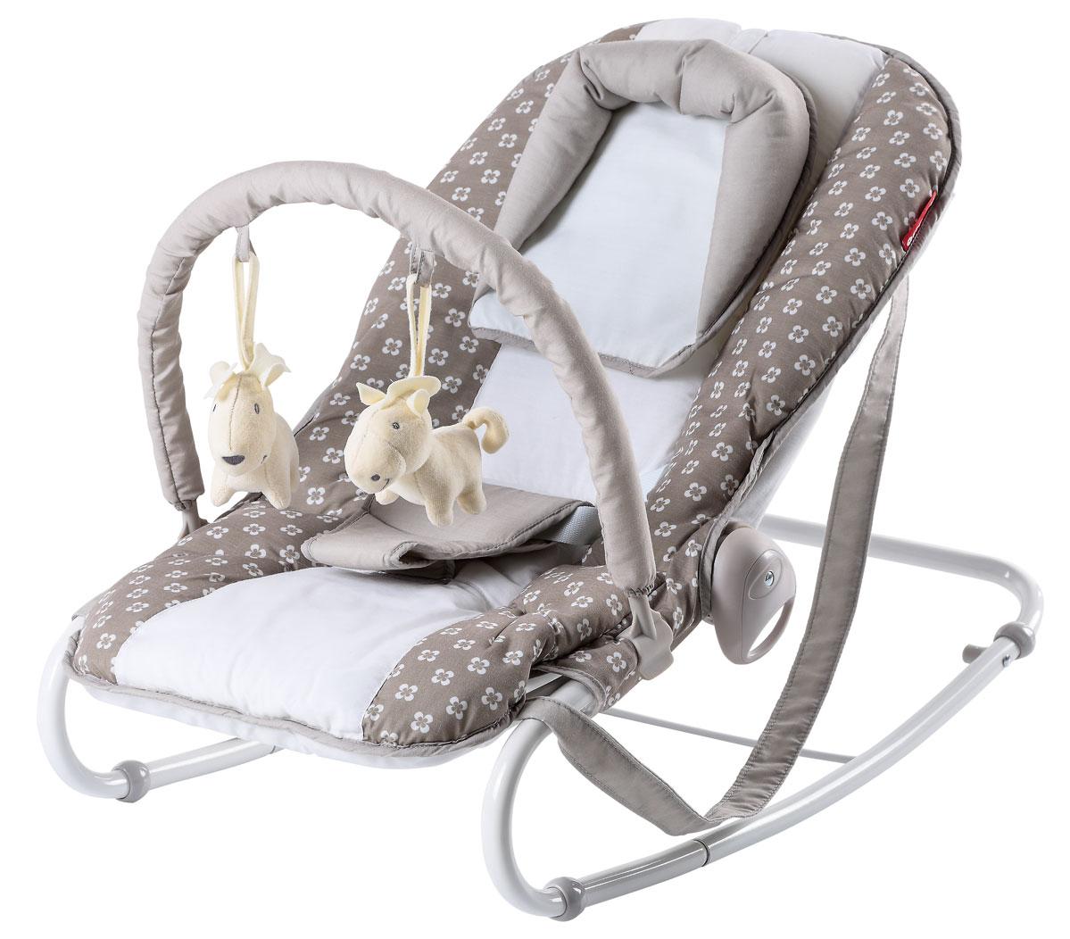 Happy Baby Шезлонг НB-8023 Т Cacao 4650069783565