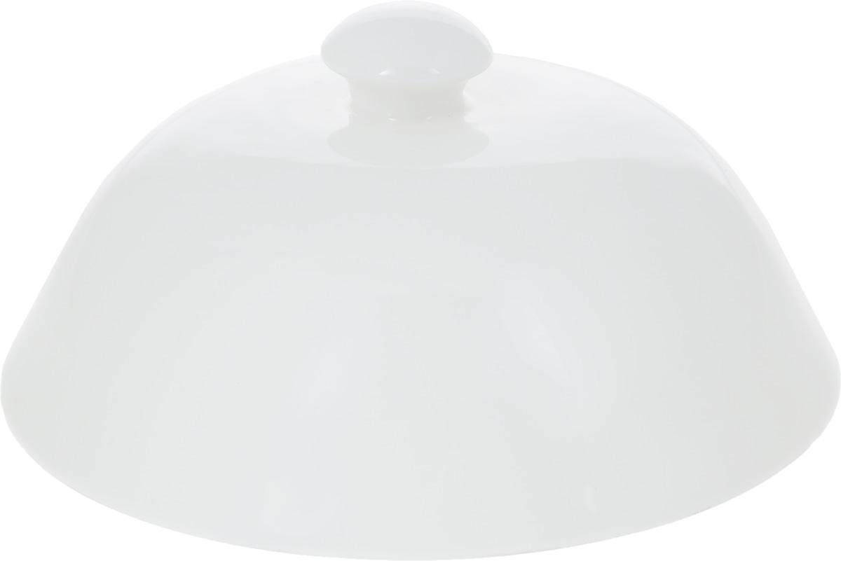 Баранчик Wilmax, диаметр 17,5 смCM000001328Баранчик (крышка для горячего) Wilmax изготовлен из высококачественного фарфора. Изделие используется в качестве крышки для тарелок и позволяет дольше сохранить блюда горячими. Такая крышка станет настоящим украшением праздничного стола, а также подойдет для повседневного использования. Диаметр баранчика: 17,5 см. Высота: 8 см.