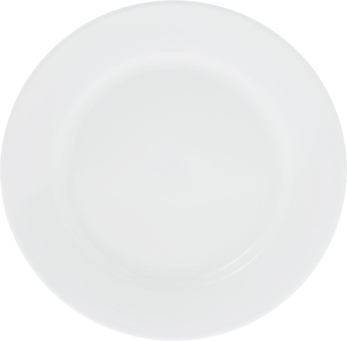 Тарелка Wilmax, диаметр 18 см. WL-991177 / AWL-991177 / AТарелка Wilmax, выполненная из высококачественного фарфора, имеет классическую круглую форму. Изделие идеально подойдет для сервировки стола и станет отличным подарком к любому празднику.