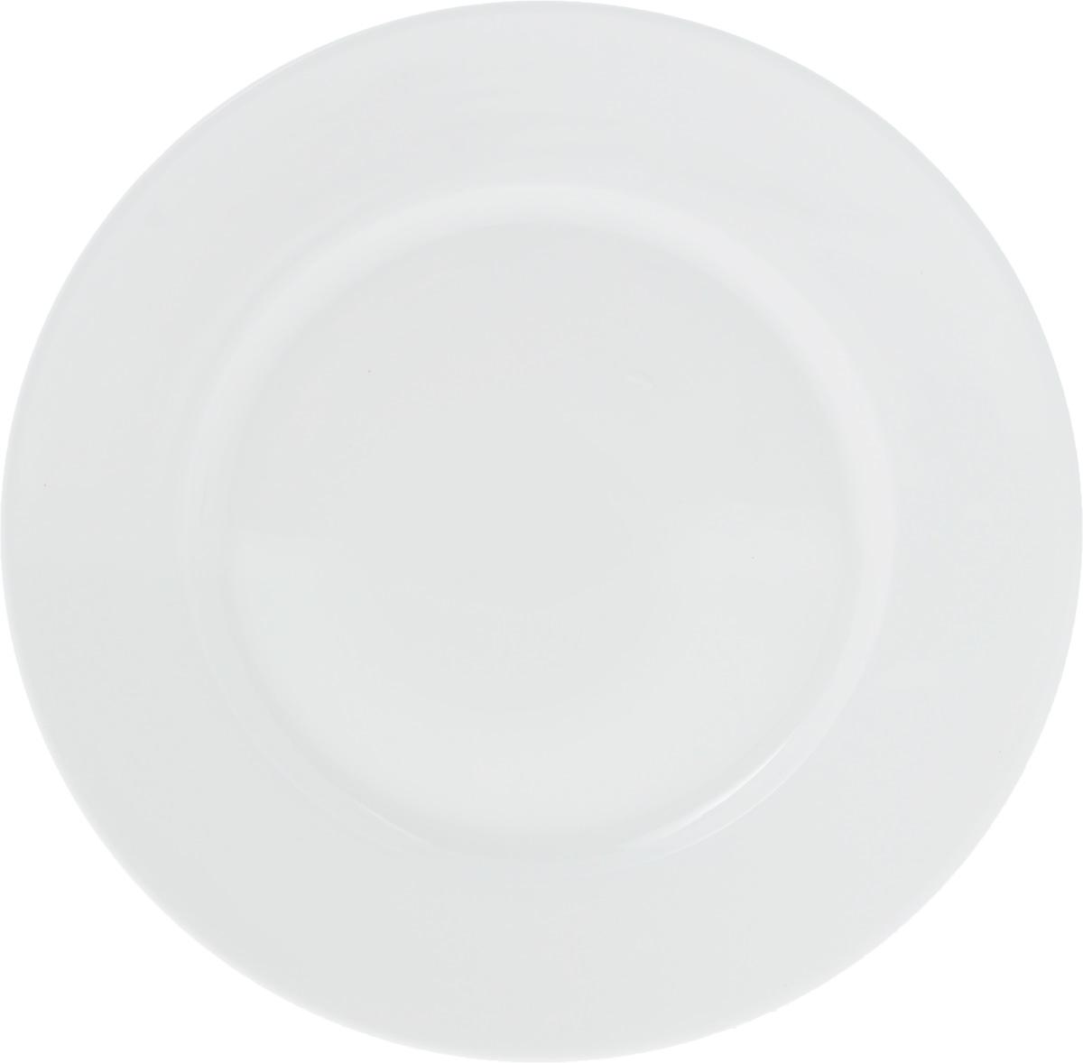 Тарелка Wilmax, диаметр 18 см. WL-991005 / AVT-1520(SR)Тарелка Wilmax, выполненная из высококачественного фарфора, имеет классическую круглую форму. Изделие идеально подойдет для сервировки стола и станет отличным подарком к любому празднику.