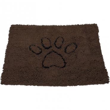 Коврик супервпитывающий Dog Gone Smart Dirty Dog Doormat, цвет: коричневый, 51 х 79 см4680265007608Dog Gone Smart Doormat Dog Doormat - это не просто коврик! Его можно использовать в машине, клетке, в качестве подстилки под миски с едой и водой, или просто в качестве места для отдыха вашего питомца! Запатентованные технологии позволяют защитить пол, мебель и сиденья автомобиля от нежелательной шерсти, грязи и слюней! Беспорядок останется на коврике! Супер абсорбирующий материал! Передовые технологии, задействованные в производстве микрофибры, позволяют впитывать воду и грязь моментально! Миллионы ворсинок микрофибры создают эффект огромной супер-губки! Что это дает: Впитывает объем воды и грязи до 7 раз больше своего веса; Оставляет полы чистыми и сухими; Сохнет в 5 раз быстрее обыкновенных ковриков; После высыхания - легко вытряхивается; Очень мягкий; Износостойкий; Нескользящая оборотная сторона; Прост в уходе; Использовать можно в любом месте.