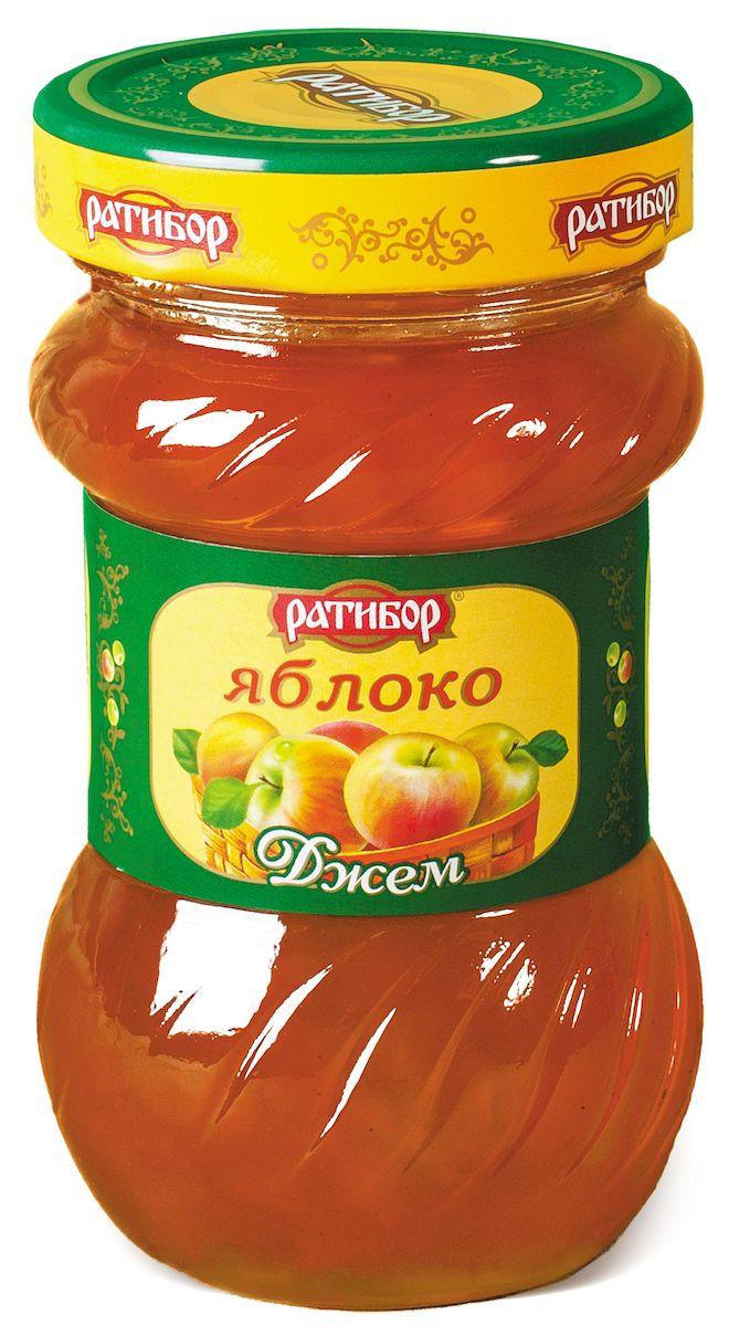 Ратибор джем Яблоко, 360 г0120710Даже ломтик пшеничного хлеба превращается в изысканное лакомство, если покрыть его слоем золотистого яблочного джема!Кушайте на здоровье!