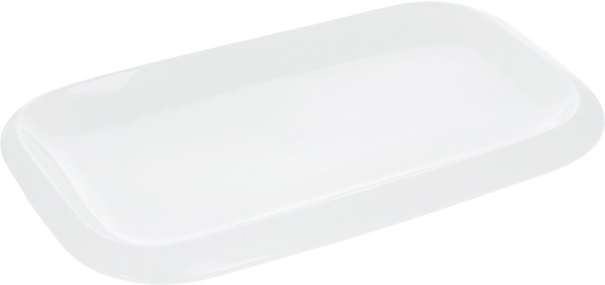 Блюдо Wilmax, 36 х 22 смWL-992662 / AОригинальное прямоугольное блюдо Wilmax, изготовленное из фарфора, прекрасно подойдет для подачи нарезок, закусок и других блюд. Оно украсит ваш кухонный стол, а также станет замечательным подарком к любому празднику. Размер блюда (по верхнему краю): 36 х 22 см.