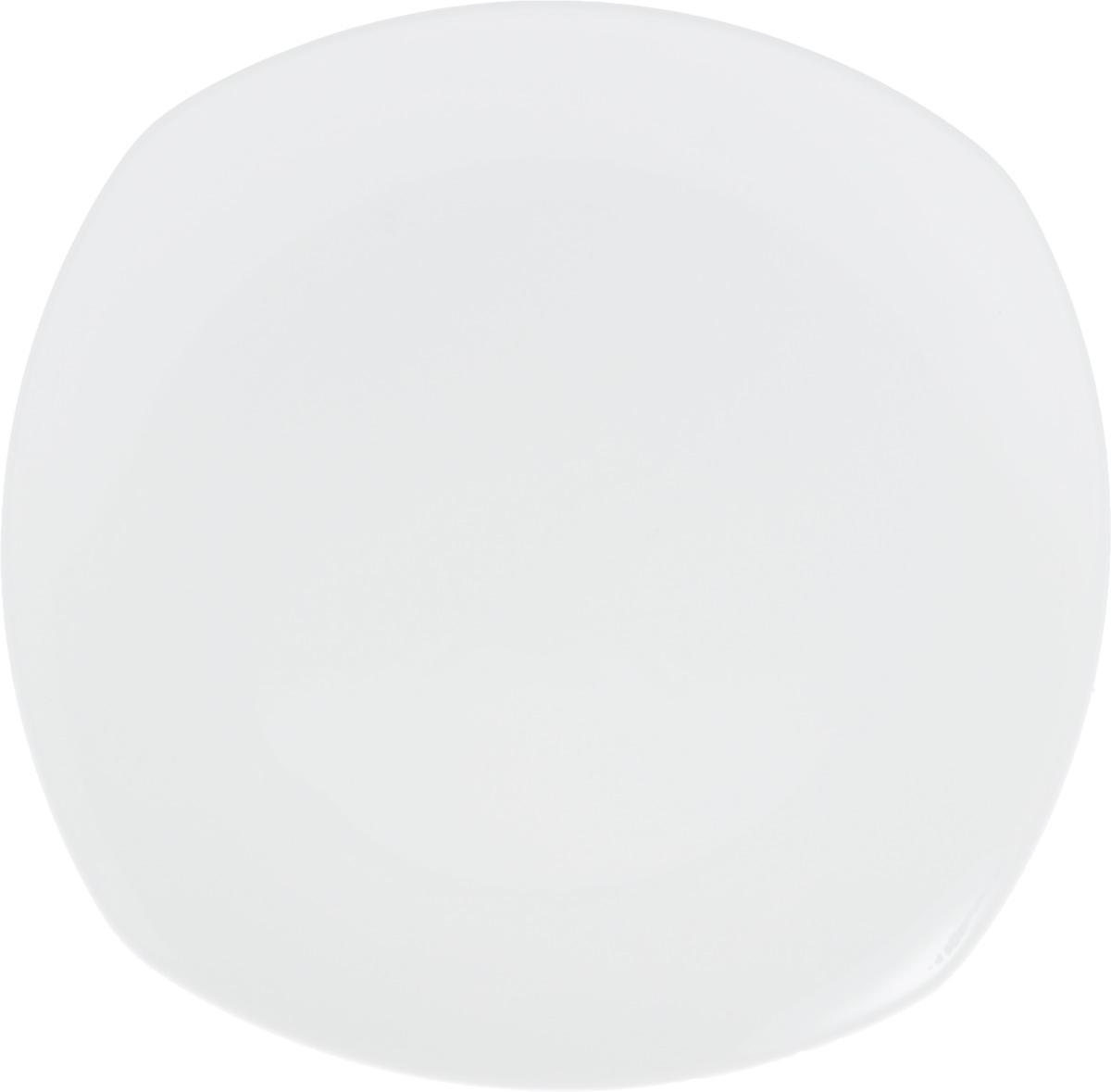 Блюдо Wilmax, 29,5 х 29,5 смWL-991003 / AОригинальное блюдо Wilmax, изготовленное из высококачественного фарфора, прекрасно подойдет для подачи нарезок, закусок и других блюд. Оно украсит ваш кухонный стол, а также станет замечательным подарком к любому празднику. Размер блюда (по верхнему краю): 29,5 х 29,5 см.