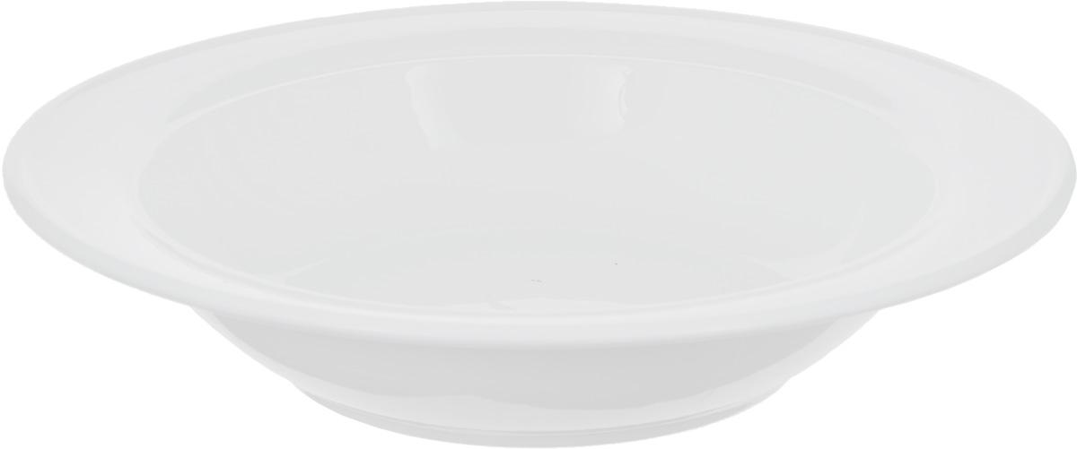 Тарелка глубокая Wilmax, диаметр 20 смWL-991016 / AГлубокая тарелка Wilmax, выполненная из высококачественного фарфора, предназначена для подачи супов и других жидких блюд. Она прекрасно впишется в интерьер вашей кухни и станет достойным дополнением к кухонному инвентарю. Тарелка Wilmax подчеркнет прекрасный вкус хозяйки и станет отличным подарком.