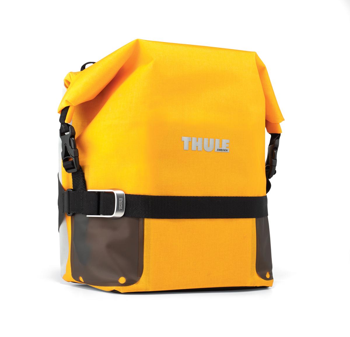 """Сумка велосипедная Thule """"Small Adventure Touring Pannier"""", цвет: желтый 100065"""