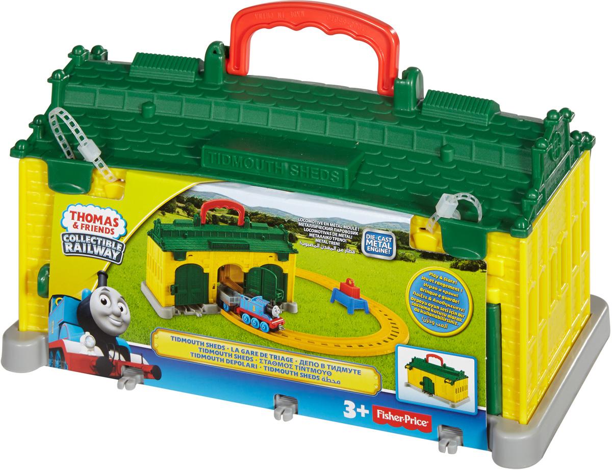 Thomas & Friends Железная дорога Депо в Тидмуте DGC10