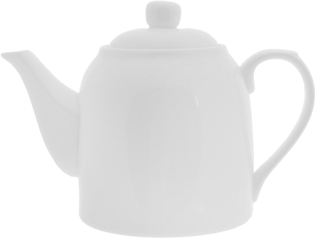 Чайник заварочный Wilmax, 900 млWL-994007 / 1CЗаварочный чайник Wilmax изготовлен из высококачественного фарфора. Глазурованное покрытие обеспечивает легкую очистку. Изделие прекрасно подходит для заваривания вкусного и ароматного чая, а также травяных настоев. Ситечко в основании носика препятствует попаданию чаинок в чашку. Оригинальный дизайн сделает чайник настоящим украшением стола. Он удобен в использовании и понравится каждому. Можно мыть в посудомоечной машине и использовать в микроволновой печи. Диаметр чайника (по верхнему краю): 8 см. Высота чайника (без учета крышки): 12 см.