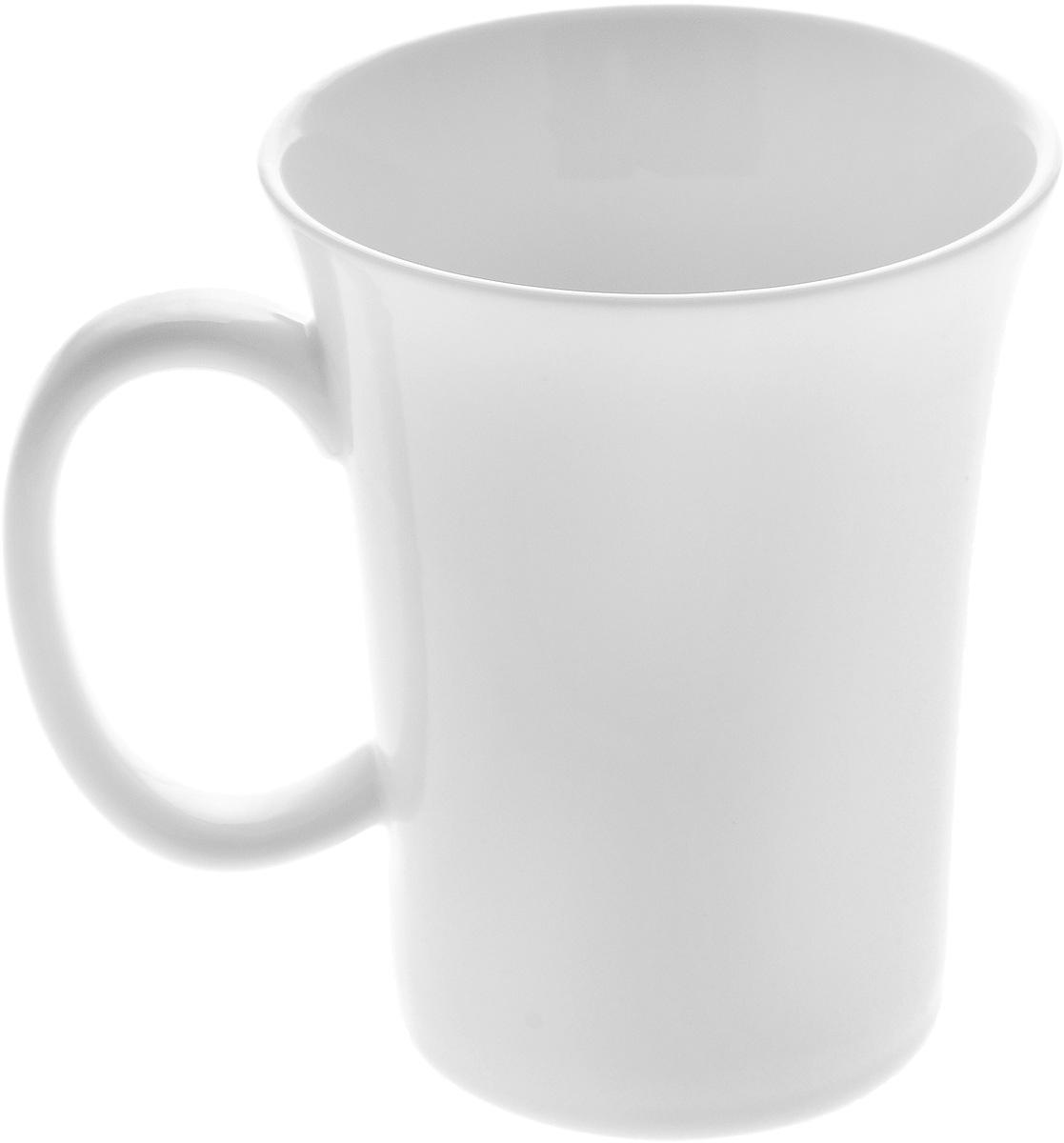 Кружка Wilmax, 350 млWL-993011 / AКружка Wilmax изготовлена из высококачественного фарфора и сочетает в себе оригинальный дизайн и функциональность. Такая кружка идеально впишется в интерьер современной кухни, а также станет хорошим и практичным подарком на любой праздник. Диаметр кружки(по верхнему краю): 9 см.