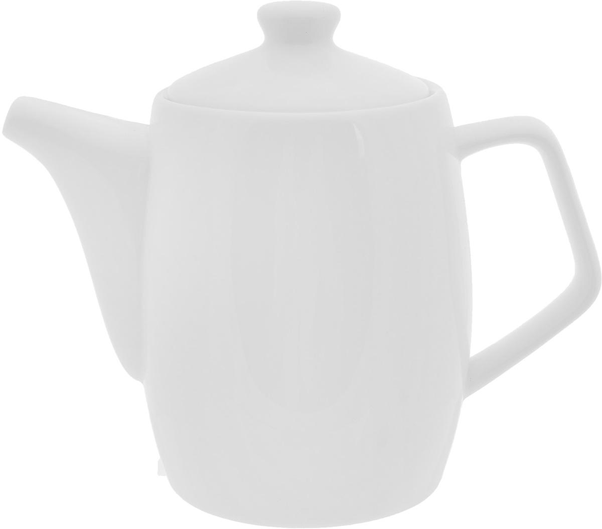 Чайник заварочный Wilmax, 500 млWL-994024 / 1CЗаварочный чайник Wilmax изготовлен из высококачественного фарфора. Глазурованное покрытие обеспечивает легкую очистку. Изделие прекрасно подходит для заваривания вкусного и ароматного чая, а также травяных настоев. Ситечко в основании носика препятствует попаданию чаинок в чашку. Оригинальный дизайн сделает чайник настоящим украшением стола. Он удобен в использовании и понравится каждому. Можно мыть в посудомоечной машине и использовать в микроволновой печи. Диаметр чайника (по верхнему краю): 7,5 см. Высота чайника (без учета крышки): 11 см.