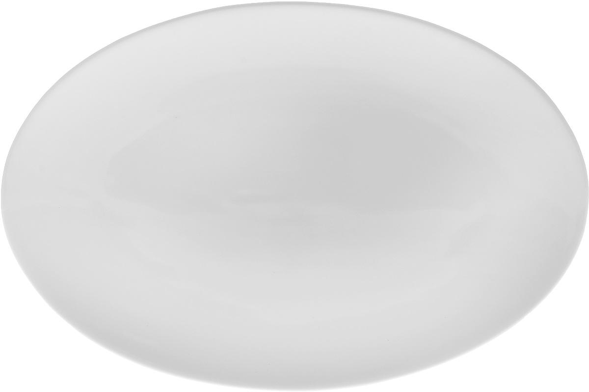 Блюдо Wilmax, 30,5 х 20,4 см115510Оригинальное овальное блюдо Wilmax, изготовленное из фарфора, прекрасно подойдет для подачи нарезок, закусок и других блюд. Оно украсит ваш кухонный стол, а также станет замечательным подарком к любому празднику.Размер блюда: 30,5 х 20,4 см.
