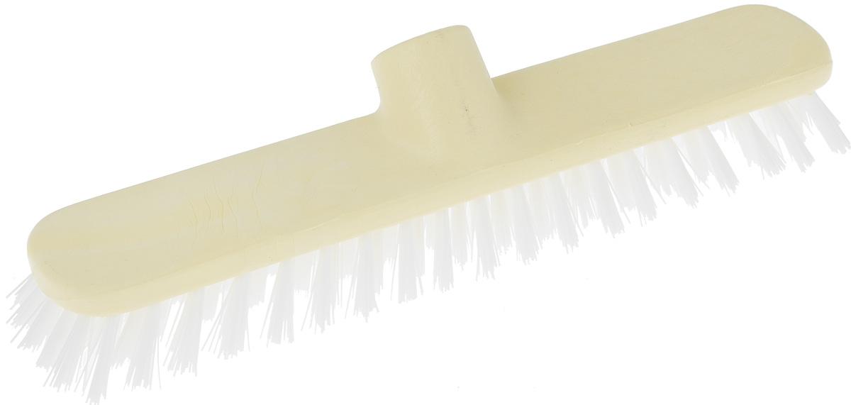 Щетка-насадка для пола Apex Basic, цвет: светло-желтый, длина 28 см10543-A_светло-желтыйЩетка Apex Basic, представляет собой сменную насадку для швабры, предназначенную для чистки ковров, ковровых покрытий. Упругие волоски щетки-насадки не оставят следа от грязи, мелкой пыли, шерсти домашних животных. Оригинальная, современная, удобная щетка, которую можно подобрать к любому интерьеру, сделает уборку эффективнее и приятнее. Размер щетки: 28 см х 4,5 см. Длина ворса: 3 см.