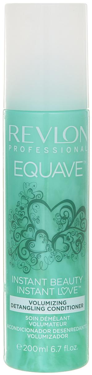 Revlon Professional Equave Несмываемый кондиционер для тонких волос Instant Beauty Volumizing Detangling 200 мл7221917000Несмываемый двухфазный кондиционер мгновенного действия для тонких волос. Придает объем, уплотняет, укрепляет, распутывает волосы. Для слабых, тонких, болезненных волос косметологи Revlon создали обогащенный кератином кондиционер для объема облегчающий расчесывание волос Volumizing Detangling Conditioner. Это косметическое средство мгновенно распутывает тонкие, слабые, болезненные и требующие особого внимания и заботы волосы. Они мгновенно приобретают естественный объем без утяжеления и склеивания. Верхняя фаза препарата освежает и кондиционирует волосы и придает им здоровый блеск. Нижняя фаза кондиционера увлажняет и питает. Волосы приобретают плотность и объем, легко фиксируются и не электризуются.