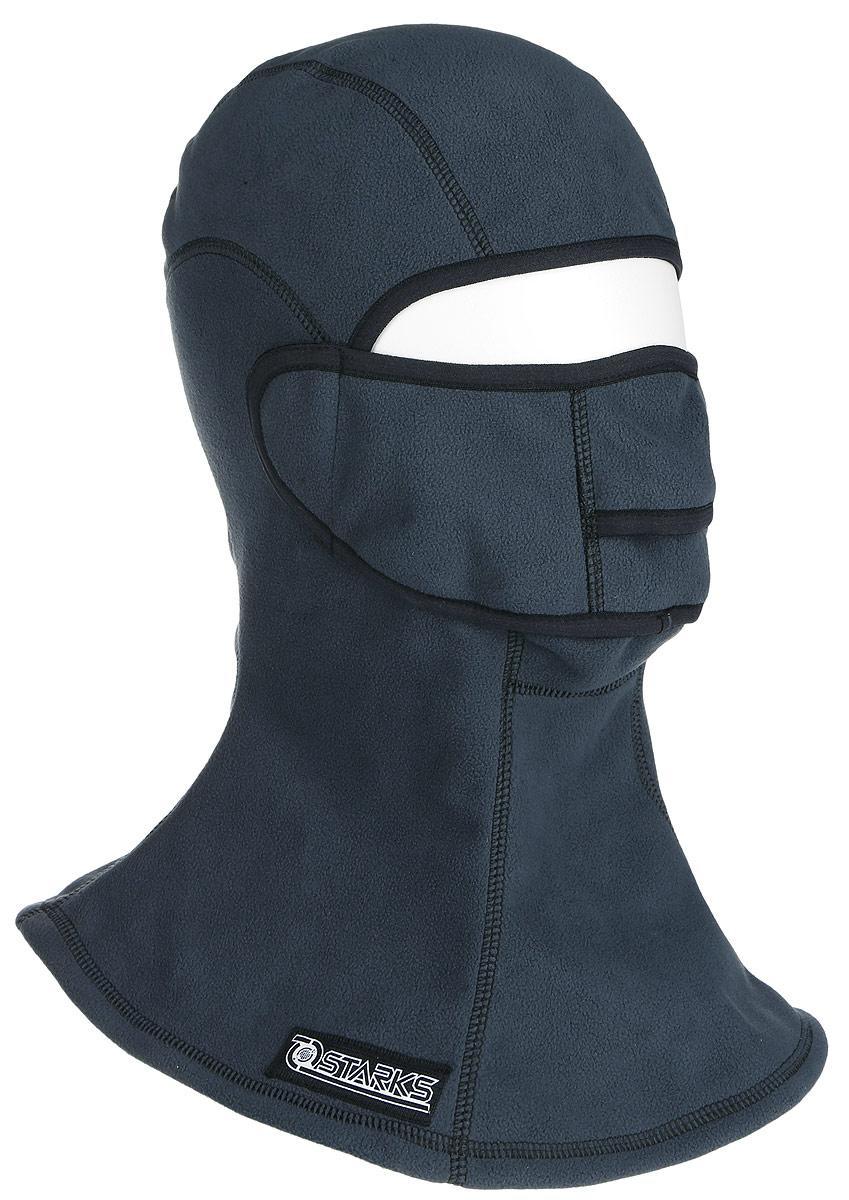 Подшлемник Starks Fleece Collar Open, с защитой шеи, цвет: серый. Размер L/XLЛЦ0032_Серый_LПодшлемник Starks Fleece Collar Open предназначен для использования в условиях экстремального холода. Съемная лицевая часть позволяет легко открывать лицо. Подшлемник выполнен из высококачественного полиэстера. Изделие обеспечивает полную защиту лица и шеи от проницания влаги, холода, пыли. Снаружи и внутри флисовый ворс, который обеспечивает терморегуляцию, сохранение тепла, отведение влаги от лица к мембране и последующее выведение наружу. Защитная дышащая мембрана работает в обе стороны - изнутри сохраняет тепло, выводит влагу. Высота подшлемника: 45 см. Диаметр основания: 40 см.