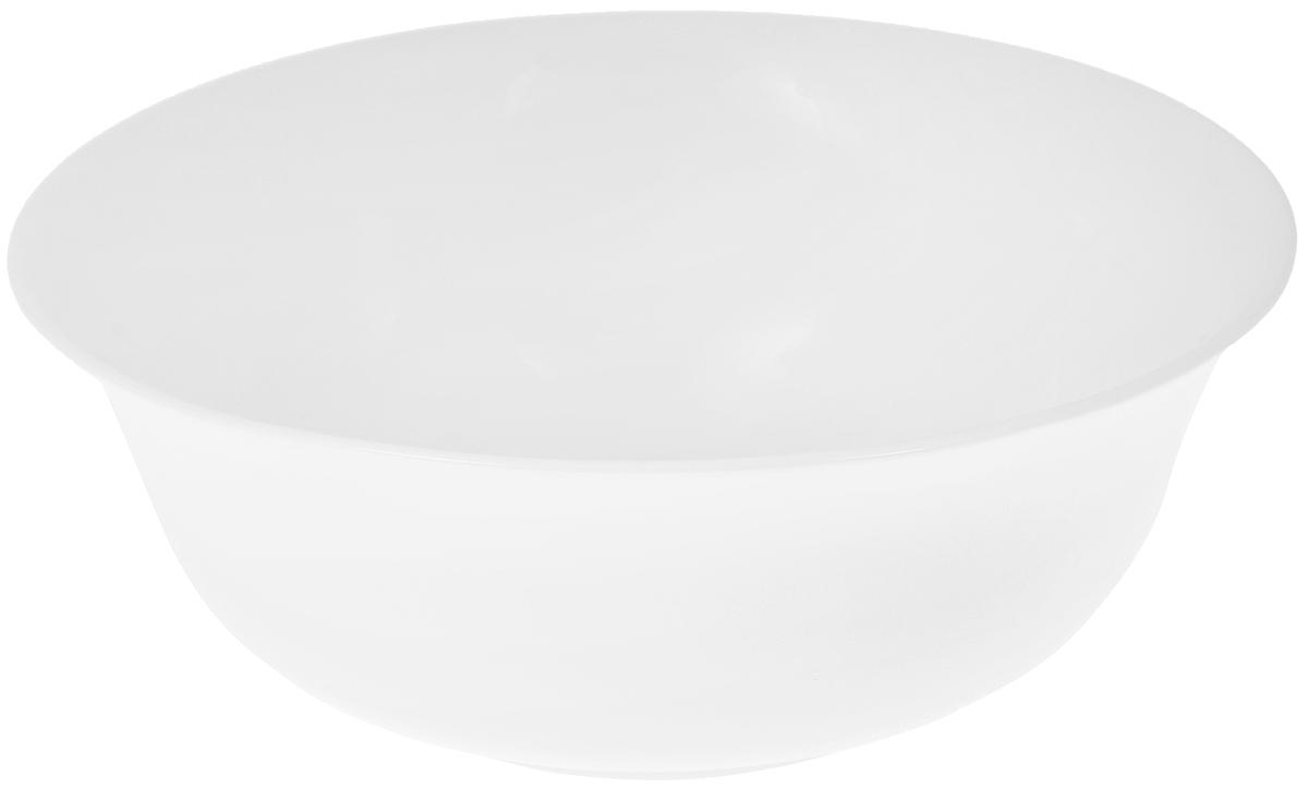 Салатник Wilmax, 1,6 лWL-992005 / AСалатник Wilmax, изготовленный из высококачественного фарфора с глазурованным покрытием, прекрасно подойдет для подачи различных блюд: закусок, салатов или фруктов. Такой салатник украсит ваш праздничный или обеденный стол, а оригинальный дизайн придется по вкусу и ценителям классики, и тем, кто предпочитает утонченность и изысканность. Можно мыть в посудомоечной машине и использовать в микроволновой печи. Диаметр салатника по верхнему краю: 21,5 см. Диаметр основания: 10 см. Высота стенки: 8 см.