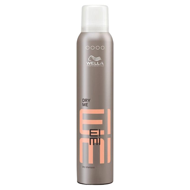 Wella Сухой шампунь EIMI Dry Me, 180 млБ33041_шампунь-барбарис и липа, скраб -черная смородинаDry Me-Сухой шампуньГоловокружительный объем и воздушная матовая текстура подчеркнут индивидуальность Вашего стиля.Формула содержит крахмал тапиоки, который освежает волосы и очищает кожу головы.