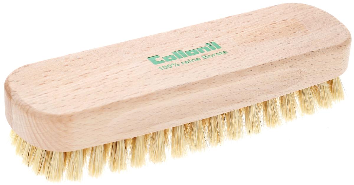 Щетка для одежды Collonil Glanzburste, 15,5 х 4,5 х 3,5 см7163 010Деревянная щетка Collonil Glanzburste изготовлена из натуральных материалов. Благодаря густому ворсу изделие быстро и эффективно очищает одежду и обувь от пыли и грязи, а также служит для придания блеска обуви. Имеет жесткую щетину и специальную форму, благодаря которой удобно ложится в руку. Размер щетки: 15,5 х 4,5 х 3,5 см.