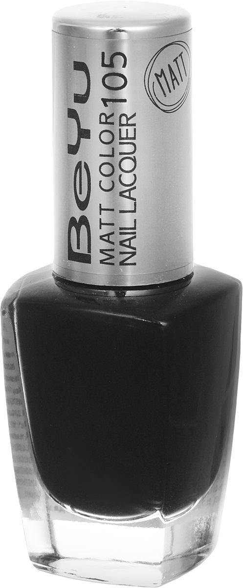 BeYu Лак для ногтей с матовым эффектом Matt Color Nail Lacquer 105 9 мл3116.105Новый лак для ногтей с модным матовым финишем! Идеально матовое покрытие и насыщенные оттенки.