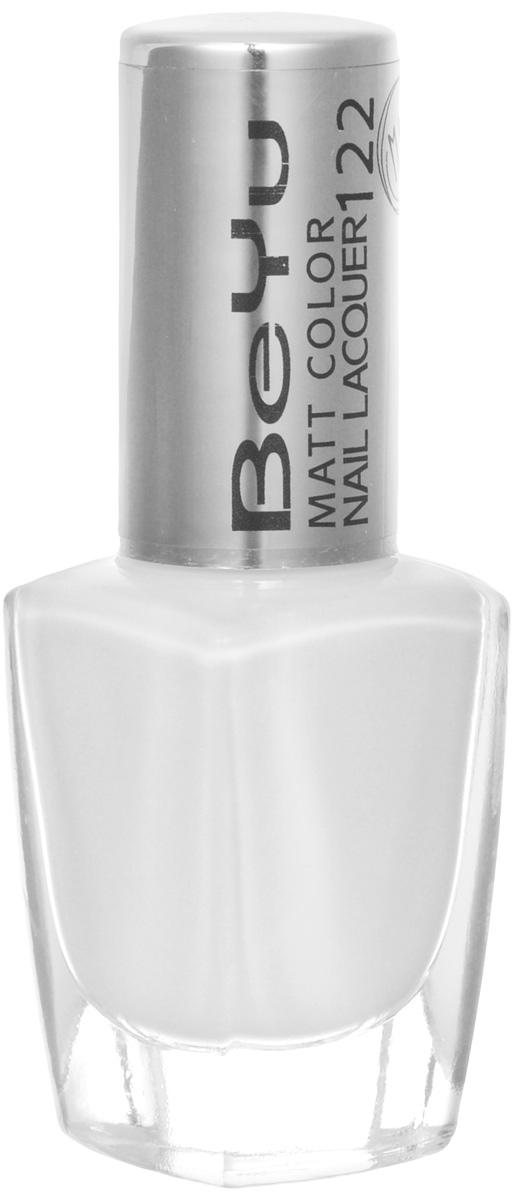 BeYu Лак для ногтей с матовым эффектом Matt Color Nail Lacquer 122 9 мл002722Новый лак для ногтей с модным матовым финишем! Идеально матовое покрытие и насыщенные оттенки.