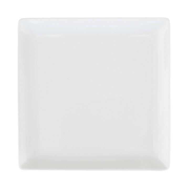 Тарелка Ariane Джульет, с приподнятым краем, 27 х 27 смVT-1520(SR)Оригинальная тарелка Ariane Джульет изготовлена из высококачественного фарфора с глазурованным покрытием. Изделие квадратной формы идеально подходит для сервировки закусок и других блюд. Такая тарелка прекрасно впишется в интерьер вашей кухни и станет достойным дополнением к кухонному инвентарю. Можно мыть в посудомоечной машине и использовать в микроволновой печи.